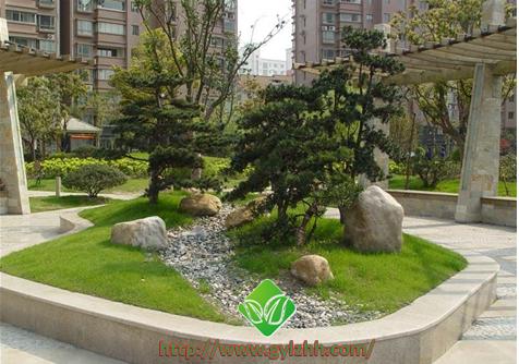 居民小区绿化设计简介